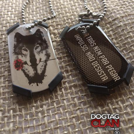 Kit com duas dogtag Jateiro/soldado modelo phantom
