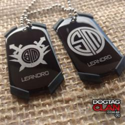 Dog Tag League Of Legends Tsm Counter Strike
