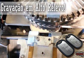 Maquina de Gravar Dog tag