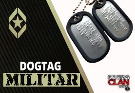 Engajamento no EB Dog tag Exercito Brasileiro