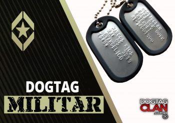 Dog tag militar | Dogtagclan