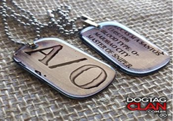 Loja que vende dog tag | Comprar dog tag  Salvador