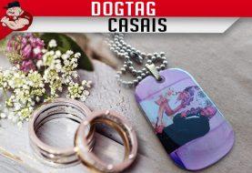 DOG TAG CASAIS