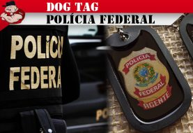 DOG TAG POLÍCIA FEDERAL