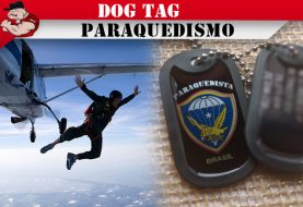DOG TAG PARAQUEDISMO