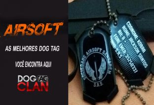 Dog Tag Air soft Personalizada