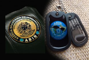 DOG TAG DISTINTIVO ABIN