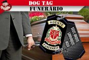 DOG TAG AGENTE FUNERÁRIO