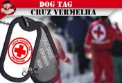DOG TAG CRUZ VERMELHA