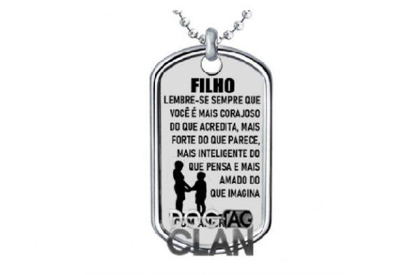 DOG TAG FILHO VENCEDOR