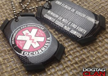 Dog Tag Socorrista