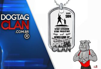 DOG TAG TO MY SON