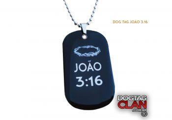 DOG TAG JOÃO 3.16